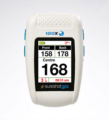 SURESHOT GPS 150X Preloaded with Aus & NZ Courses & Warranty NO FEES - FREE POST