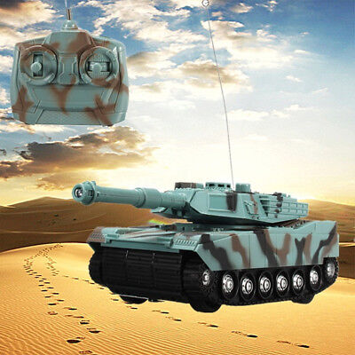 Heavy Weapons Armor Assemble Tank Infrared Radio Remote Control RC Battle Toy