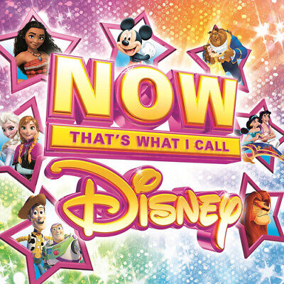 Now That's What I Call Disney CD Box Set 4 discs (2017) ***NEW***