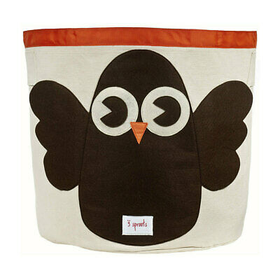 NEW 3 Sprouts Storage Bin - Brown Owl