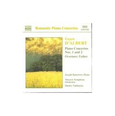 D'Albert - Piano Concertos Nos 1 & 2; Esther Ov -  CD 5YVG The Fast Free