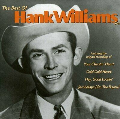 Hank Williams - The Best Of - Hank Williams CD A7VG The Fast Free Shipping
