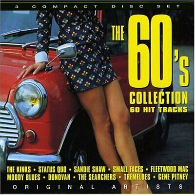 Various Artists - The 60's Collection - Various Artists CD ZDVG The Fast Free
