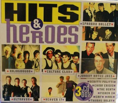 Various - Hits and Heroes - Various CD SXVG The Fast Free Shipping