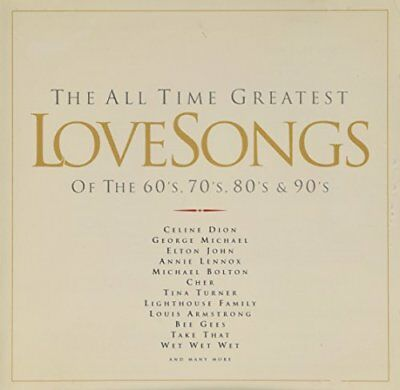 Various Artists - The All Time Greatest Love Songs ... - Various Artists CD TCVG