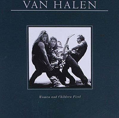 Van Halen - Women And Children First Reissue - Van Halen CD OAVG The Fast Free