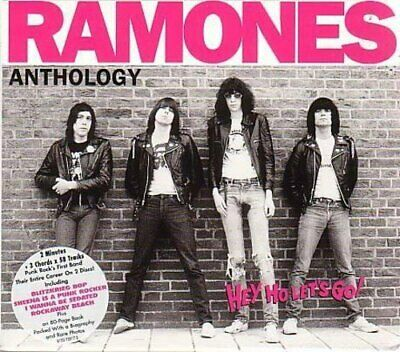 Ramones - Hey Ho Let's Go - Anthology - Ramones CD W1VG The Fast Free Shipping