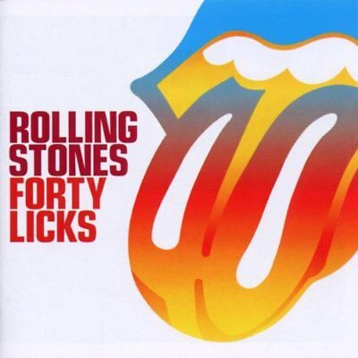 Rolling Stones - Forty Licks - Rolling Stones CD 69VG The Fast Free Shipping