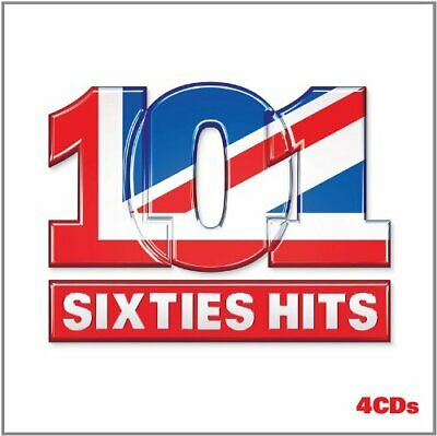 Various Artists - 101 60's Hits - Various Artists CD POVG The Fast Free Shipping