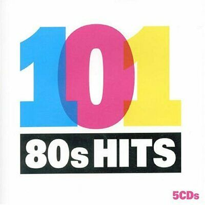 Various Artists - 101 80s Hits - Various Artists CD BOVG The Fast Free Shipping
