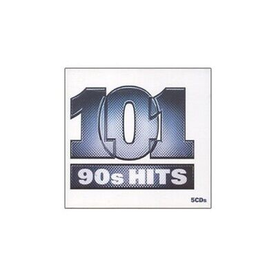 Various Artists - 101 90's Hits - Various Artists CD 08VG The Fast Free Shipping
