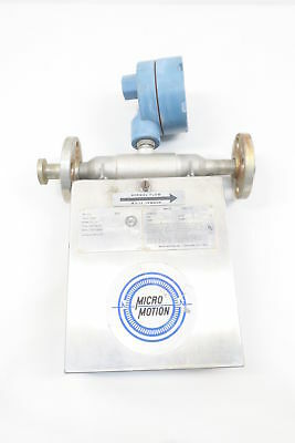 Micro Motion Ds025H124 1/2In 150 Flanged Mass Flow Sensor D582604