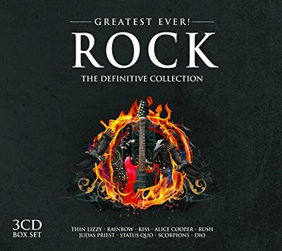 Various Artists - Greatest Ever Rock - Various Artists CD ZYVG The Fast Free