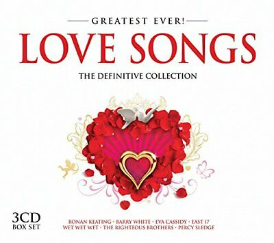 Various Artists - Greatest Ever Love Songs - Various Artists CD E4VG The Fast