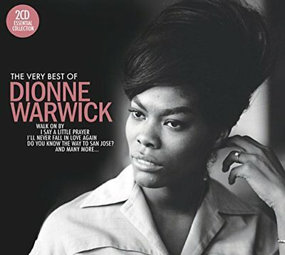 Dionne Warwick - The Very Best Of - Dionne Warwick CD Y0VG The Fast Free