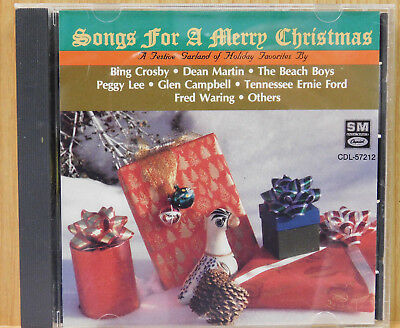 Various Artists Songs for a Merry Christmas CD EMI Capitol Records
