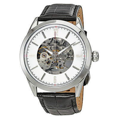 Lucien Piccard Automatic Skeleton Dial Mens Watch LP-10660A-02S-W