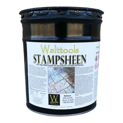 Stampsheen High Gloss Decorative Concrete Sealer (5 Gallon)
