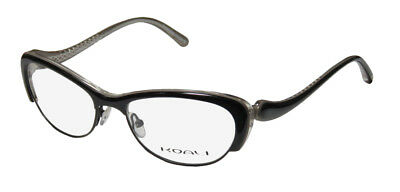 New Koali By Morel 7056K Cat Eye Glamorous Beautiful Sleek Hip Glasses/eyewear