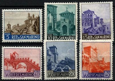 San Marino 1966 SG#794-9 Definitives, New Values MNH Set #D60237