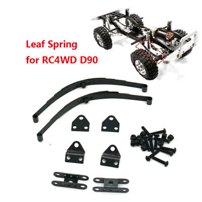 2PCS Steel Leaf Spring Type Suspension for 1:10 RC4WD TF2 D90 RC Cars Crawler