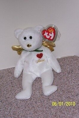 GIFT LOVE Ty Beanie Baby MINT WITH MINT TAGS