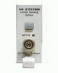 HP - Agilent - Keysight 81552SM Laser Source Module