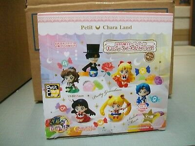 Sailor Moon Petit Chara Land Makeup by Candy Series DISPLAY BOX NEW #soct17-215