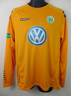 2015/16 Player Issue VFL Wolfsburg Goalkeeper Football Shirt Torwart Trikot XL