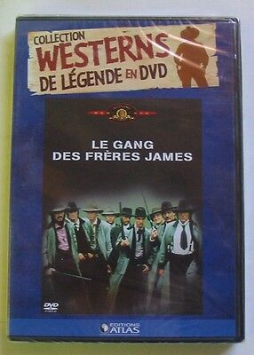DVD LE GANG DES FRERES JAMES - David CARRADINE / Keith CARRADINE - NEUF