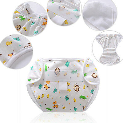 Baby Newborn Adjustable Cotton Diaper Covers Reusable Nappy Wrap Diapers Costume
