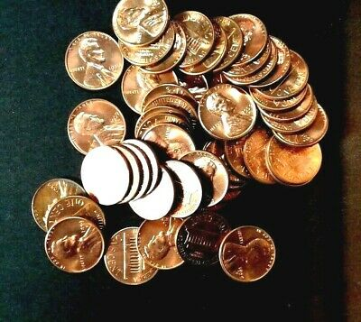 1959 - D    BU Roll Of  Lincoln  Cent  Brilliant  Uncirculated   Nice coins