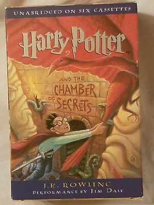Harry Potter And the Chamber of Secrets JK Rowling Book on Cassette