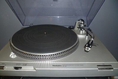 Technics Sl-D2 Direct Drive Automatic Turntable System With Lid And Owners Book!