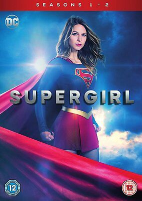 SUPERGIRL Stagioni 1-2 Serie Complete BOX DVD in Inglese NEW .cp