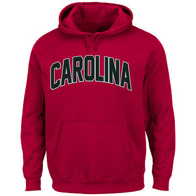 Majestic Athletic NCAA College Hoody OLE Miss Mississippi Rebels Kaputzenpullover Hooded Sweater University Cheering Them on