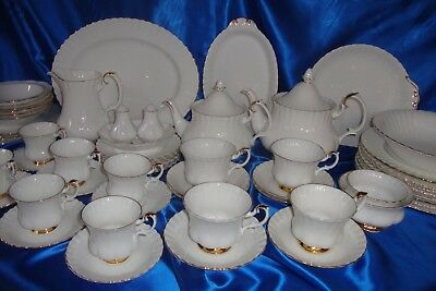 ROYAL ALBERT VAL D'OR Dinner Service Individually Sold