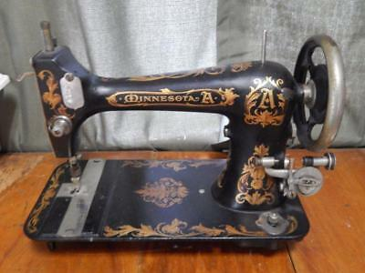 Antique Minnesota Sewing Machine, Model A, Hard to Find! Nice Shape!
