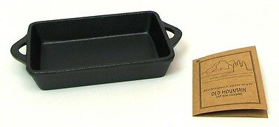 Old Mountain Cast Iron Two -  RECTANGLE Single Serving & Baking Dishes  #10192