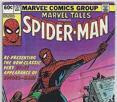 AMAZING FANTASY #15 1st Spider-Man Reprint in Marvel Tales #137 Nabisco Variant