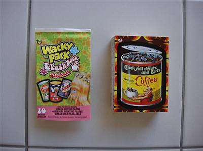Wacky Packages Flashback SERIES 2 Full 72 Card Set WOW!