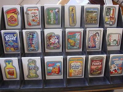 DISTRACTIONS SET 1-9 WACKY PACKAGES ANS11 BASE SET 110 STICKERS ALL VARIATIONS