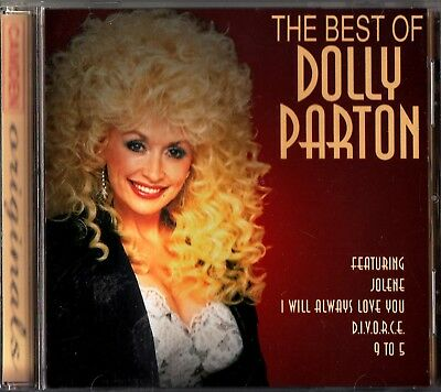DOLLY PARTON- The Best of CD Greatest Hits Jolene/9 to 5/I Will Always Love You