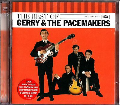 Very Best Of Gerry & The Pacemakers-Greatest Hits 2-CD 60s I Like It/Mersey Beat