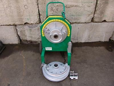 "Greenlee 555 Bender 1/2-2"" Inch Rigid Pipe Electric Bender"