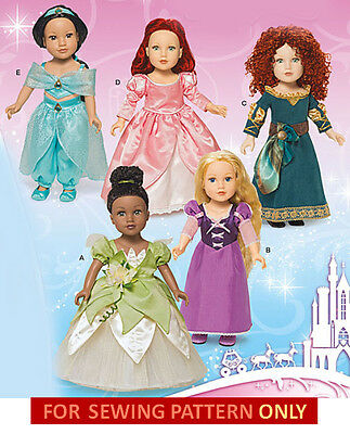 RETIRED SEWING PATTERN BELLE GIRL~DOLL COSTUME BEAUTY~BEAST FIT AMERICAN GIRL