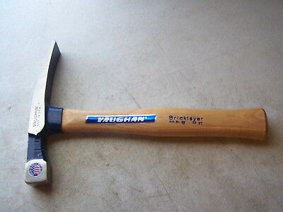 Vaughan BL-16 Bricklayer Hammer 16 OZ. Made In USA New