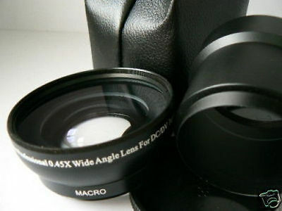 KAW BK 52mm 0.45X Wide-Angle Lens + Adapter Tube For Nikon Coolpix P310 Camera