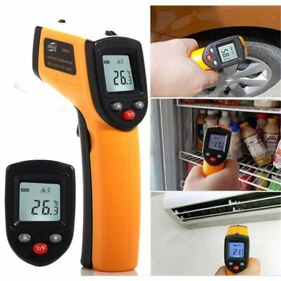 Temperature Gun Non-contact Infrared IR Laser Digital Thermometer FDA Approved H