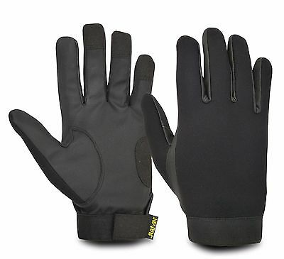Police Duty Protective madewith Kevlar Cut Resistant Security Gloves Safety Work